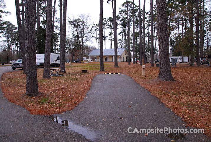 Fairview Riverside State Park - Campsite Photos