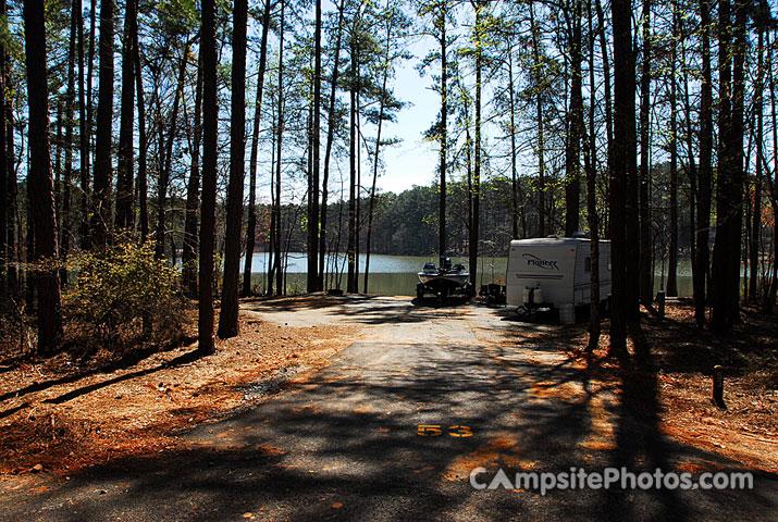 Hamilton Branch State Park Campsite Photos Camp Info