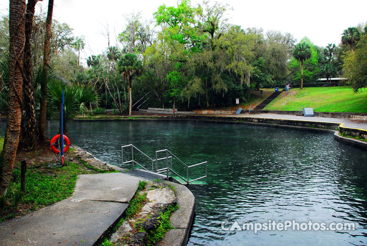 Wekiwa Springs State Park Swim Area 3