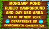 Mongaup Pond Sign