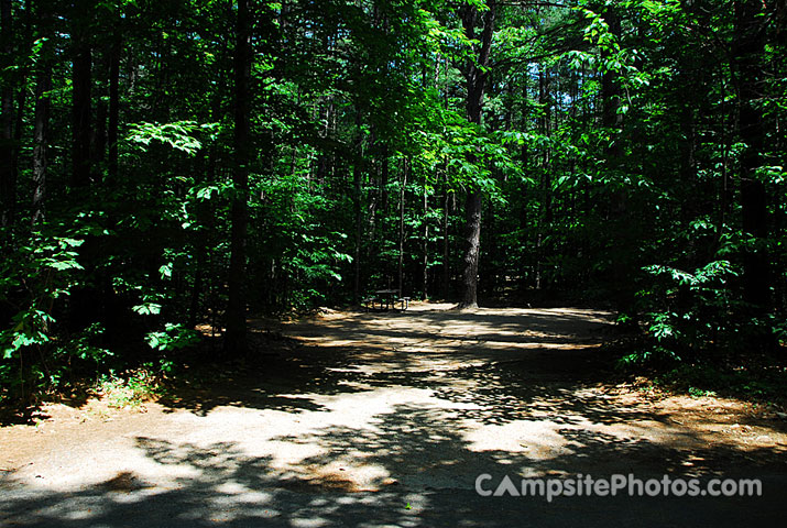 White Lake State Park Campground 1 079