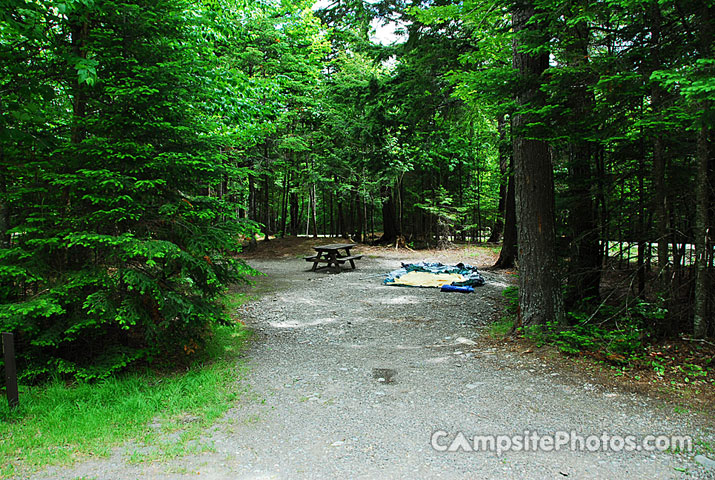 Lily Bay State Park Campsite Photos Campground
