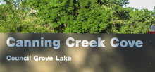 Canning Creek Cove Park
