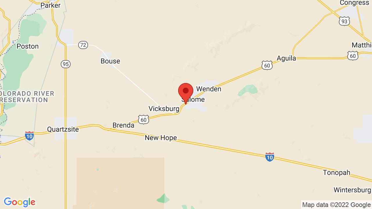 Map Of Koa Arizona.Salome Koa Campsite Photos