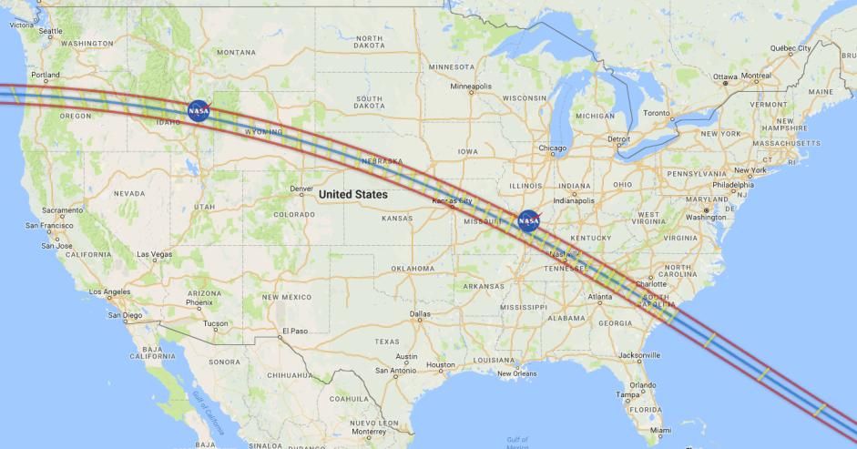 CampsitePhotos-Solar Eclipse Path - NASA