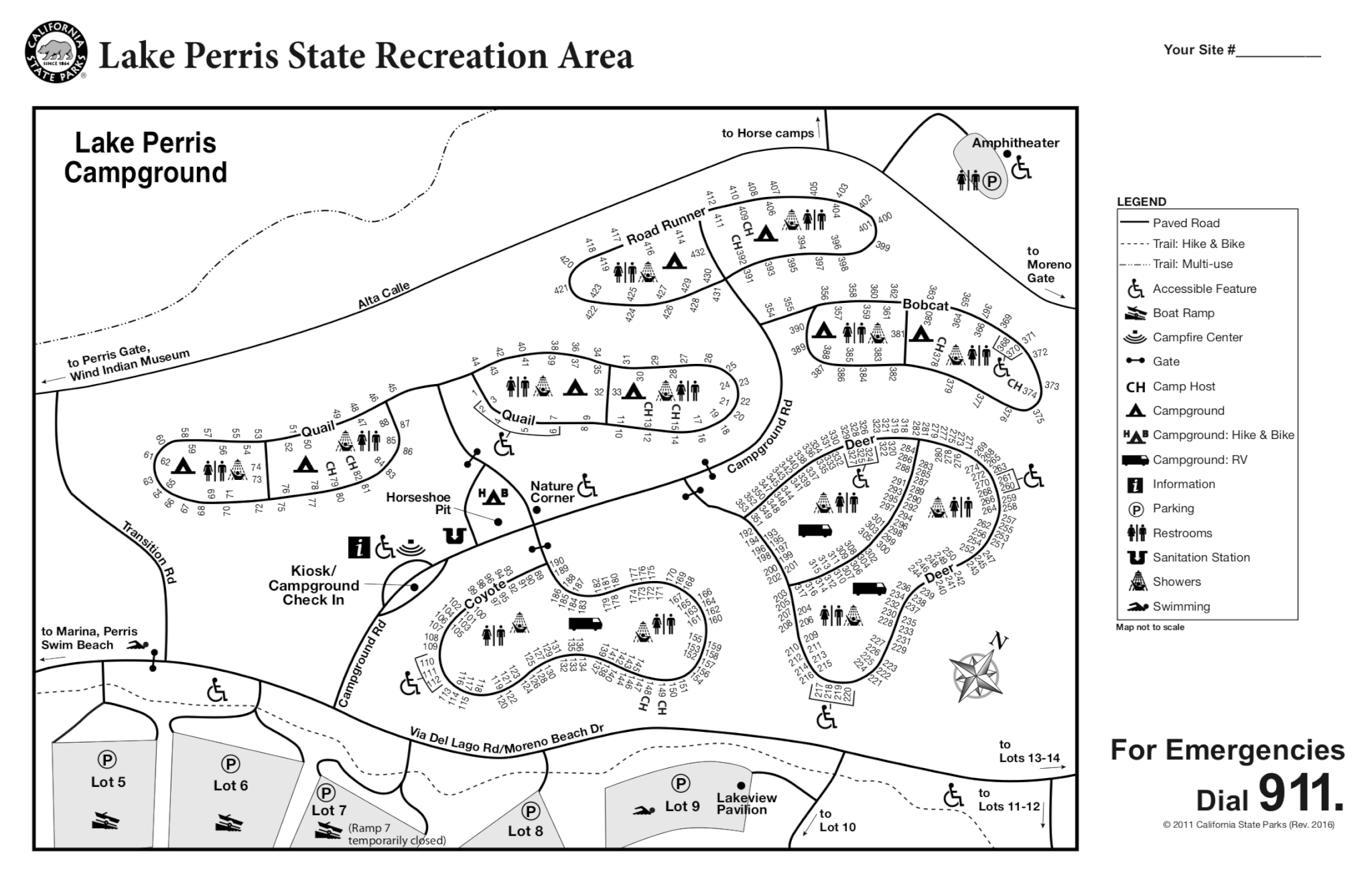 Lake perris campsite photos and camping information for Lake perris fishing report