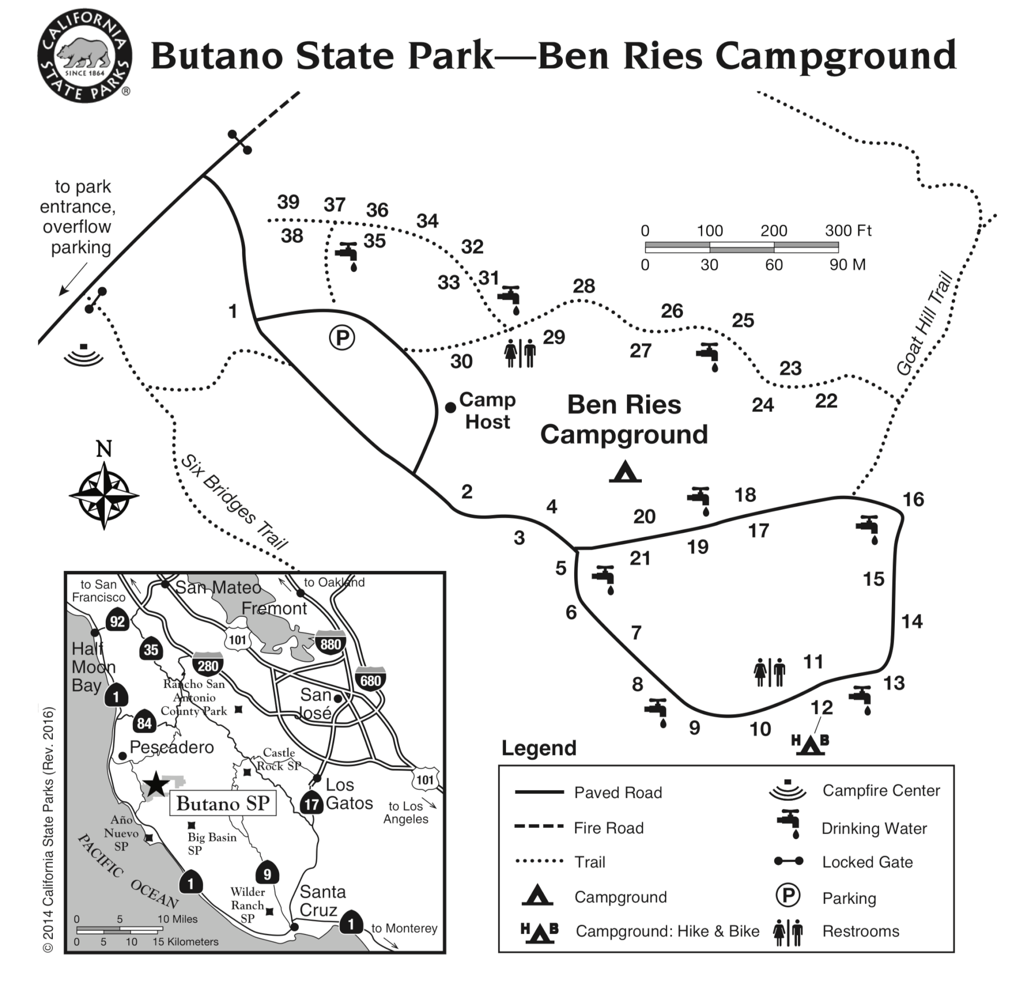Butano State Park - Campsite Photos, Campground Info & Reservations