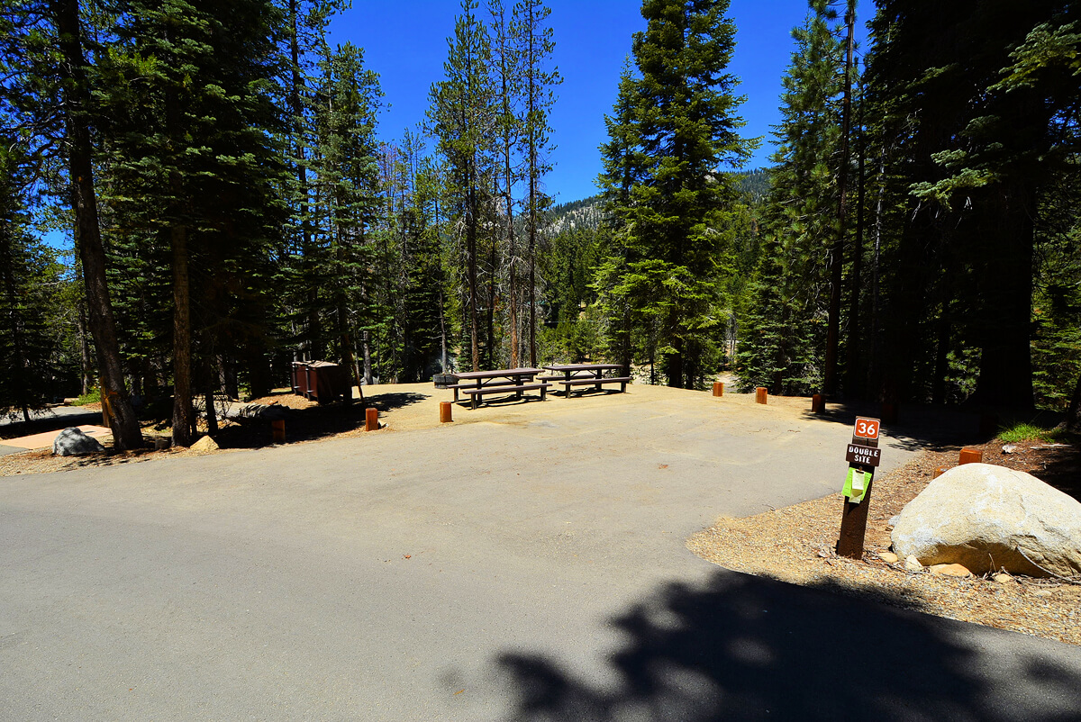 Huntington Lake Campgrounds_Rancheria Site 36_CampsitePhotos.com