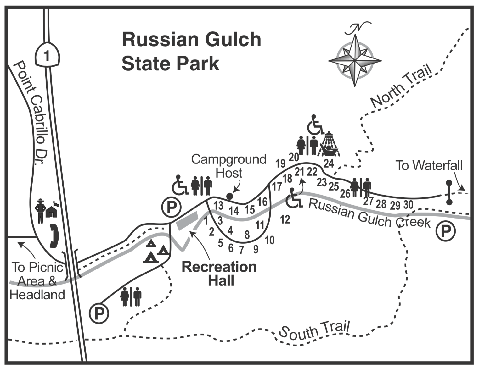 Russian Gulch State Park Campsite Photos And Campground