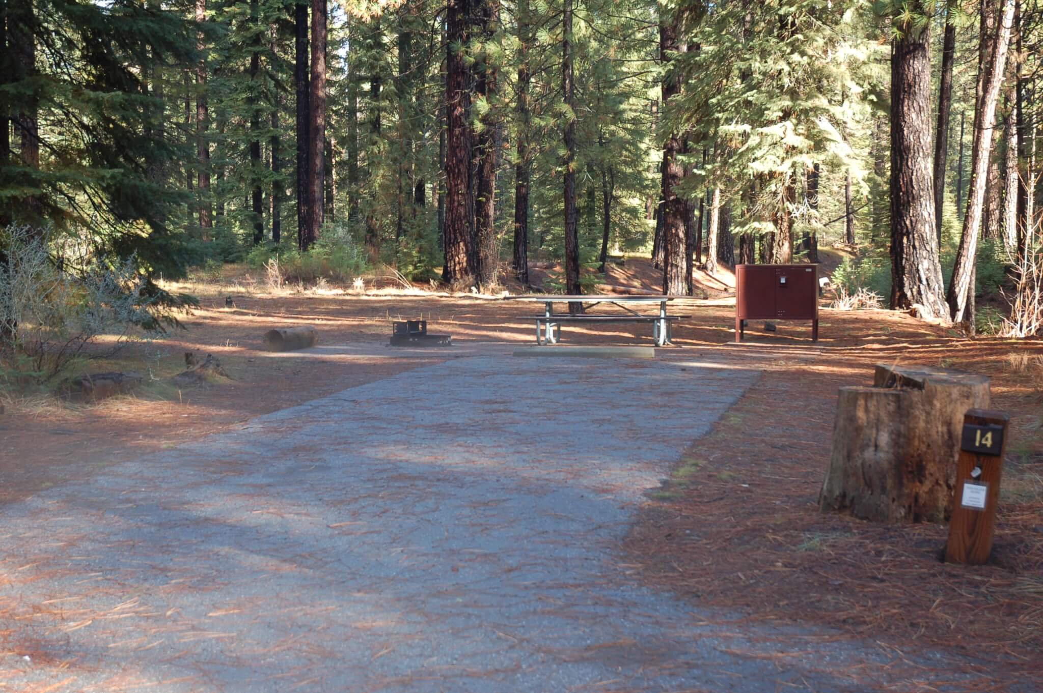 Cattle Camp - Site 14 - CampsitePhotos.com