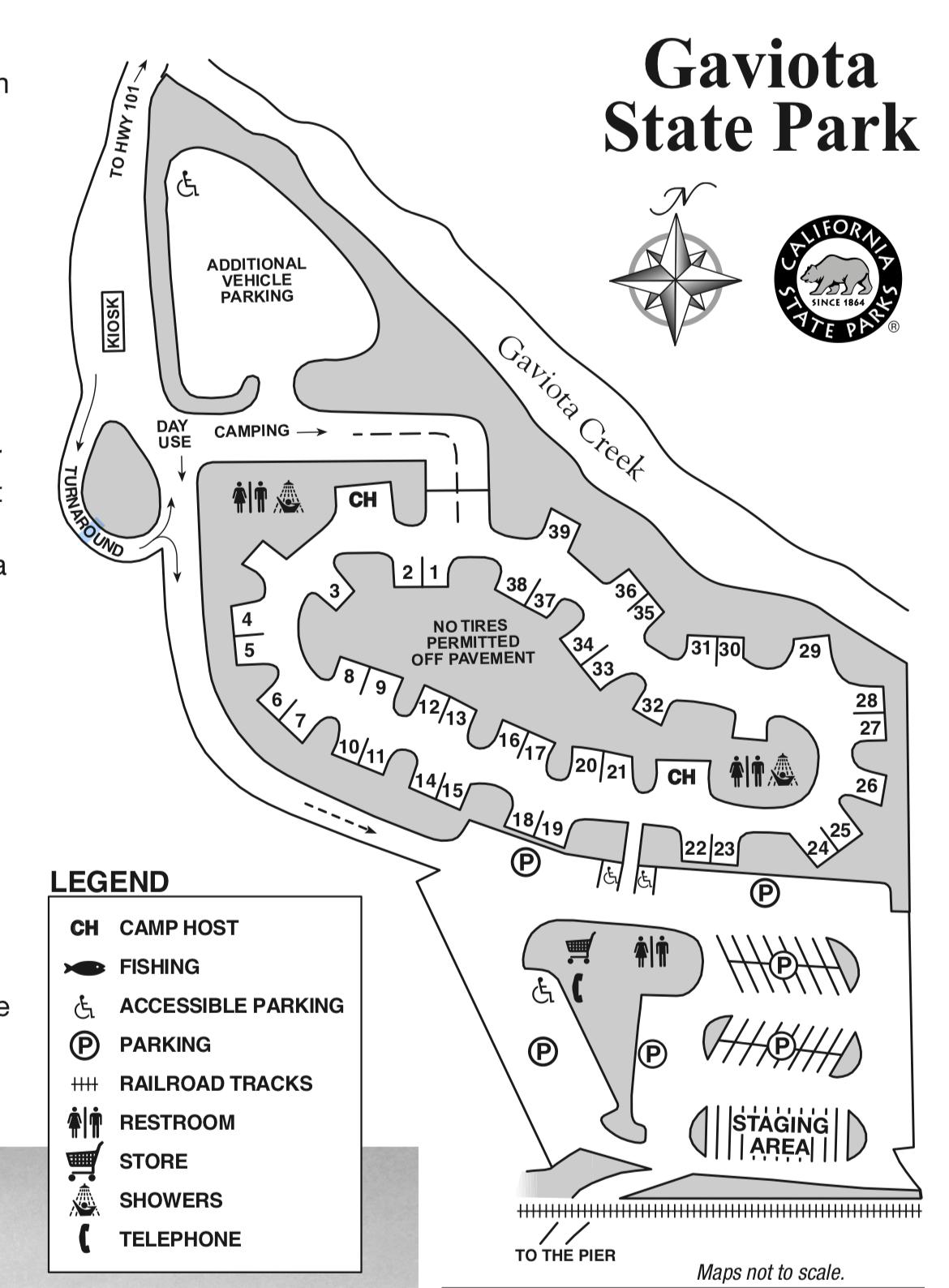 Gaviota State Park Campsite Photos Camping Info