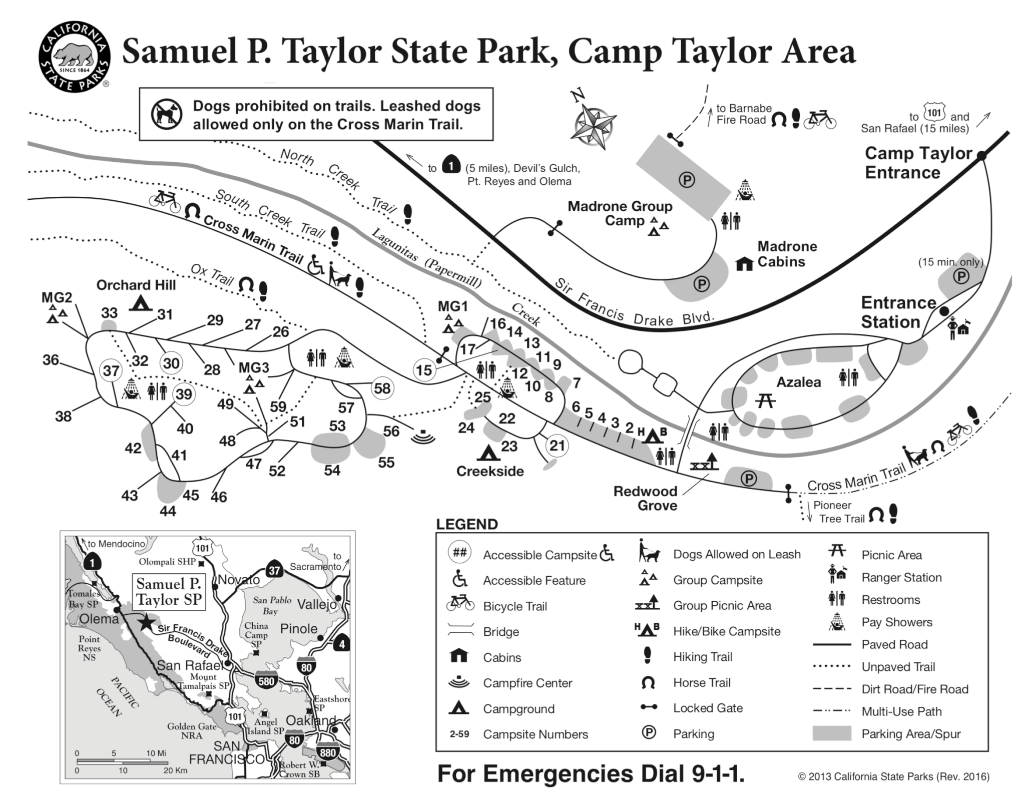 Samuel P Taylor Campsite Photos Camp Info Amp Reservations