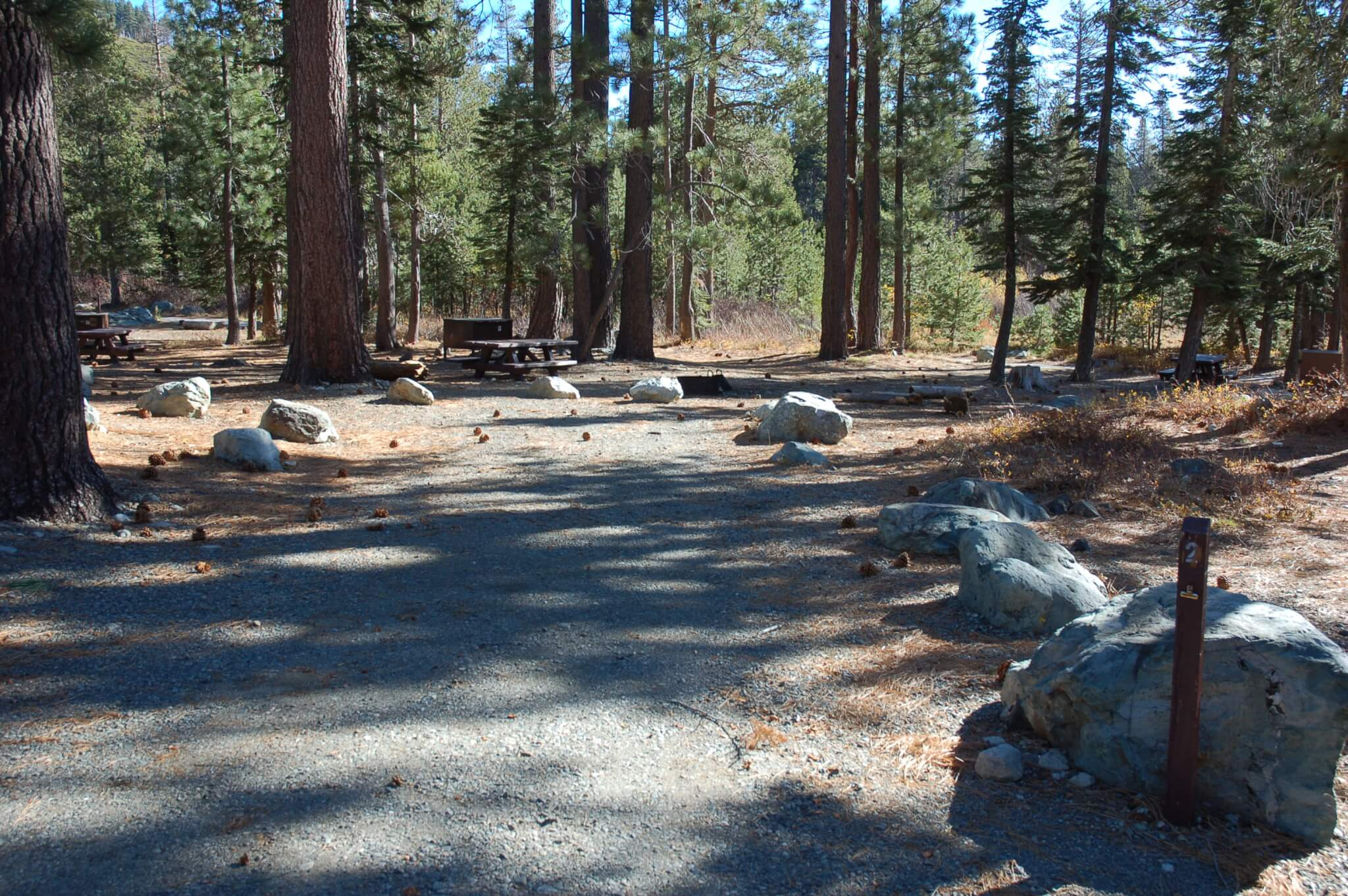 Sardine Lake Campground - Site 2 - CampsitePhotos.com