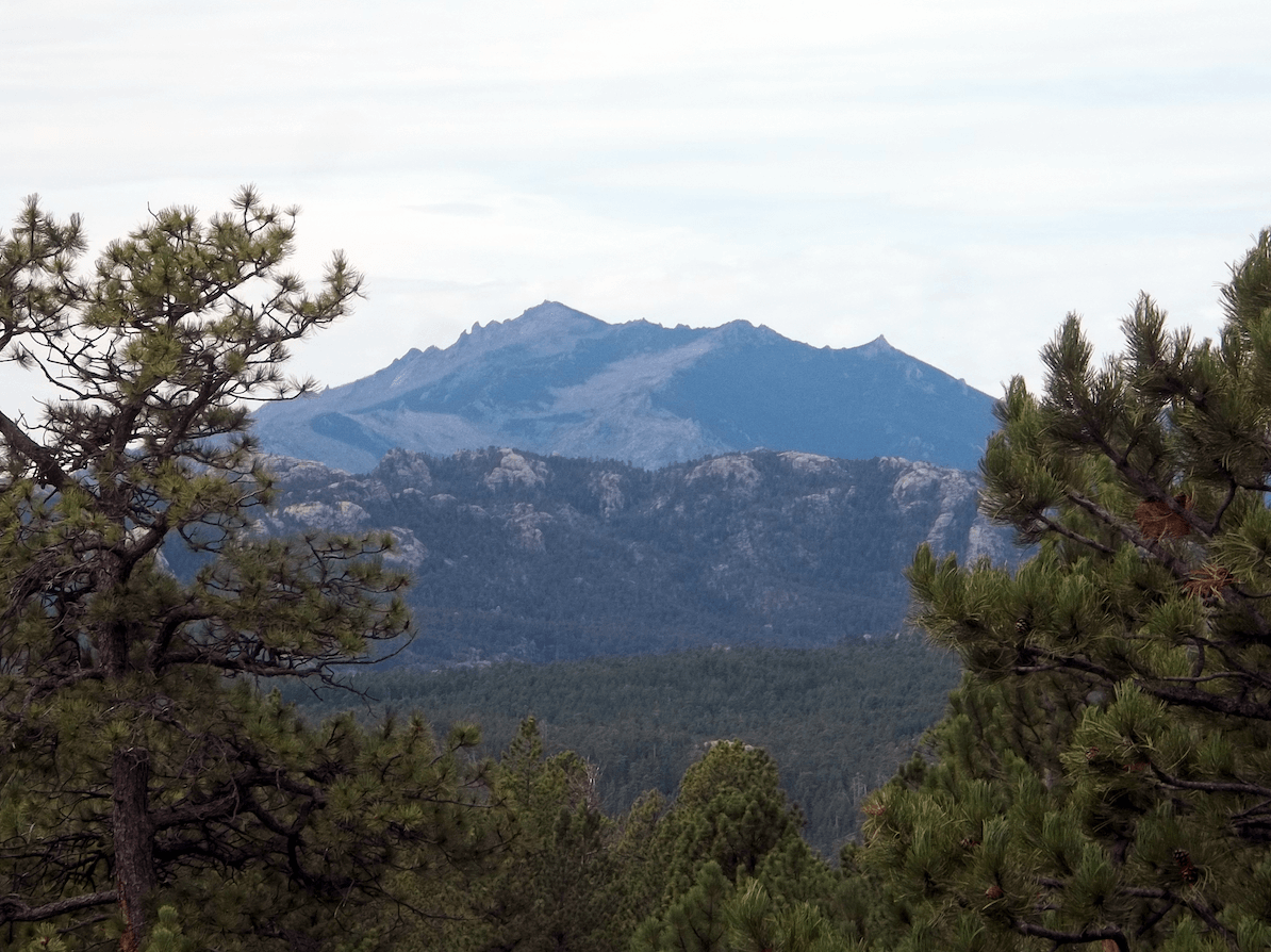 Lone Rock & Esterbrook campgrounds - Rocky Mountains View