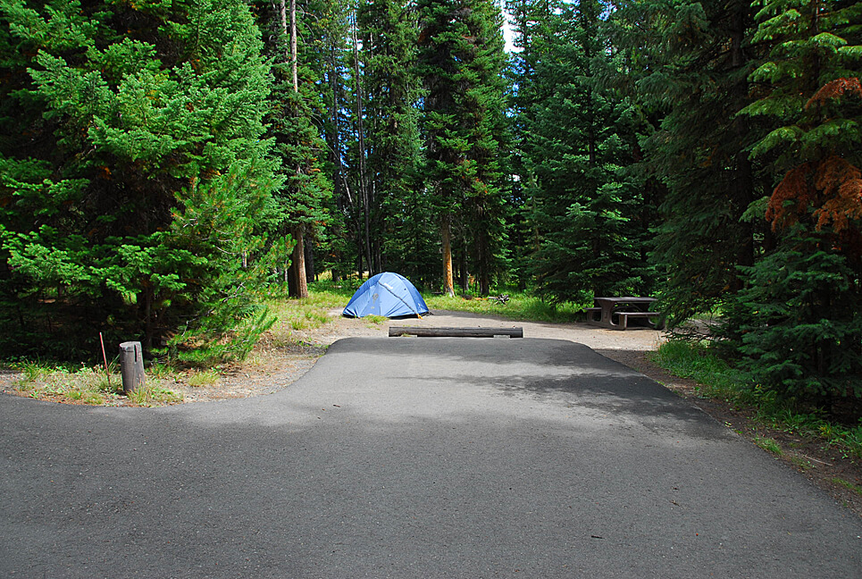 Yellowstone National Park Campsite Photos _Bridge Bay