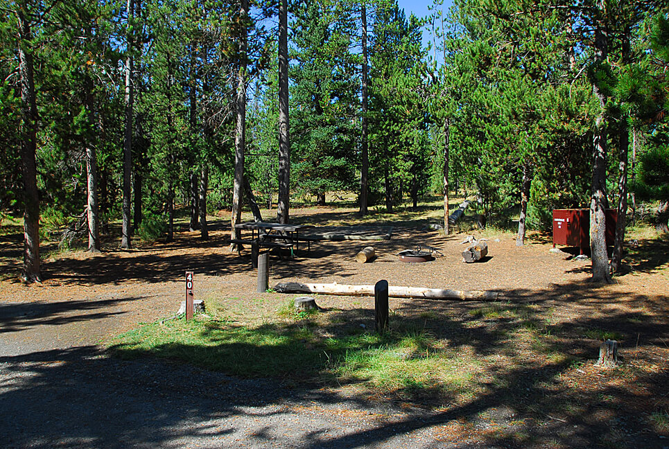 Yellowstone National Park Campsite Photos _Indian Creek