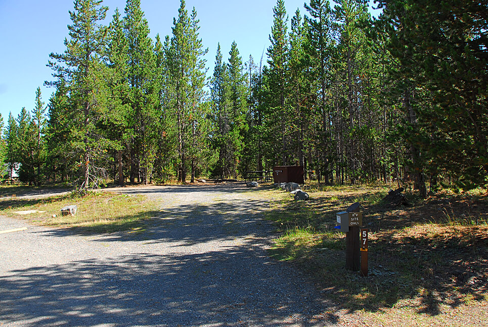 Yellowstone National Park Campsite Photos_Indian Creek 57