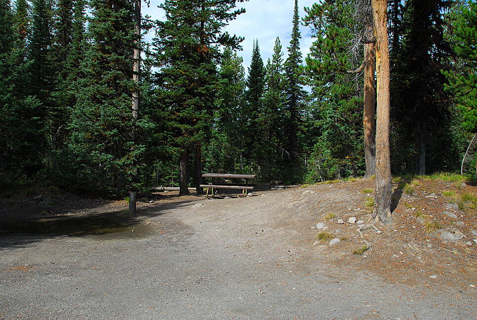 Yellowstone National Park Campsite Photos _Lewis Lake