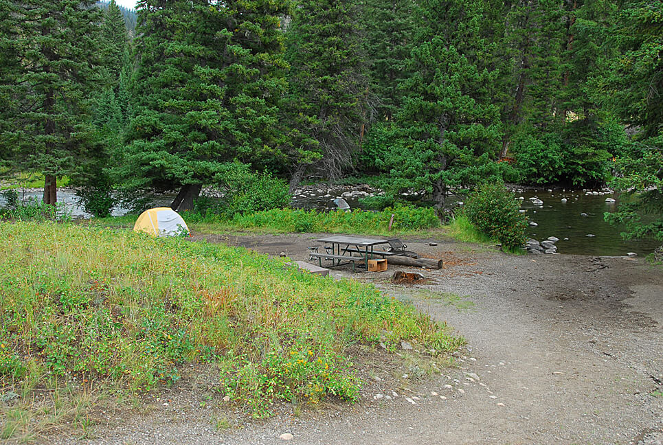 Yellowstone National Park Campsite Photos _Sough Creek 7