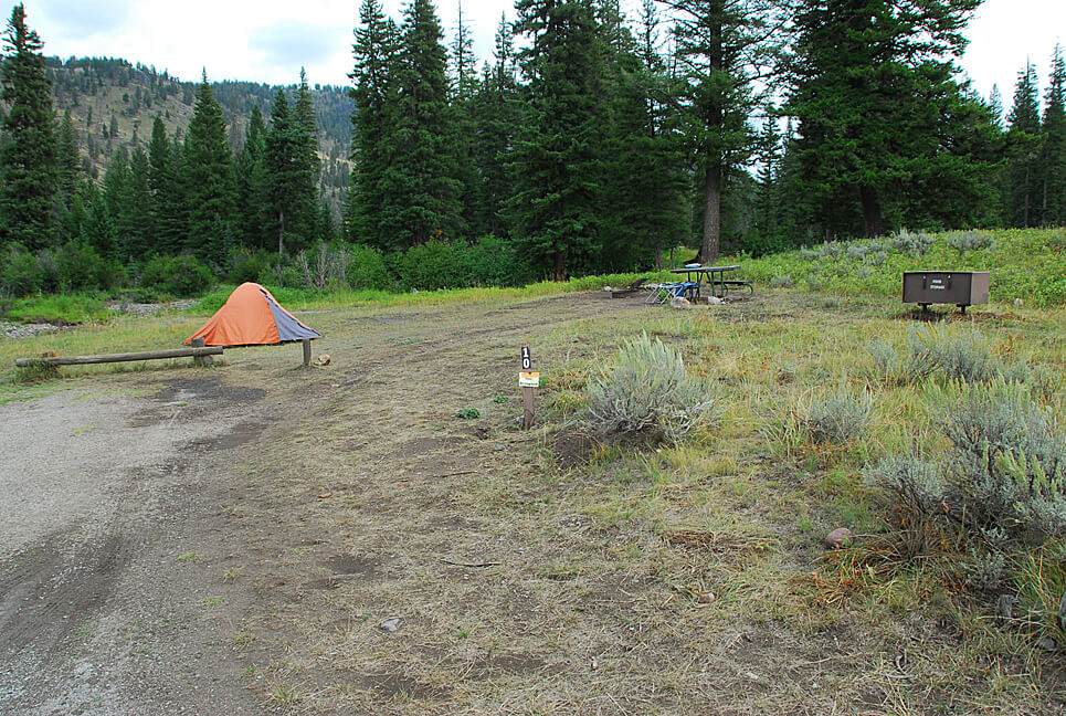 Yellowstone National Park Campsite Photos _Slough Creek 10