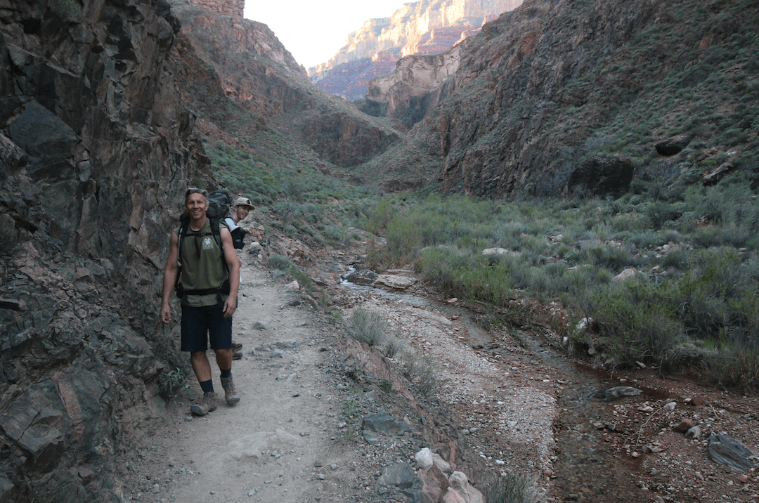 Bright Angel Campground_Bright Angel Trail Hikers