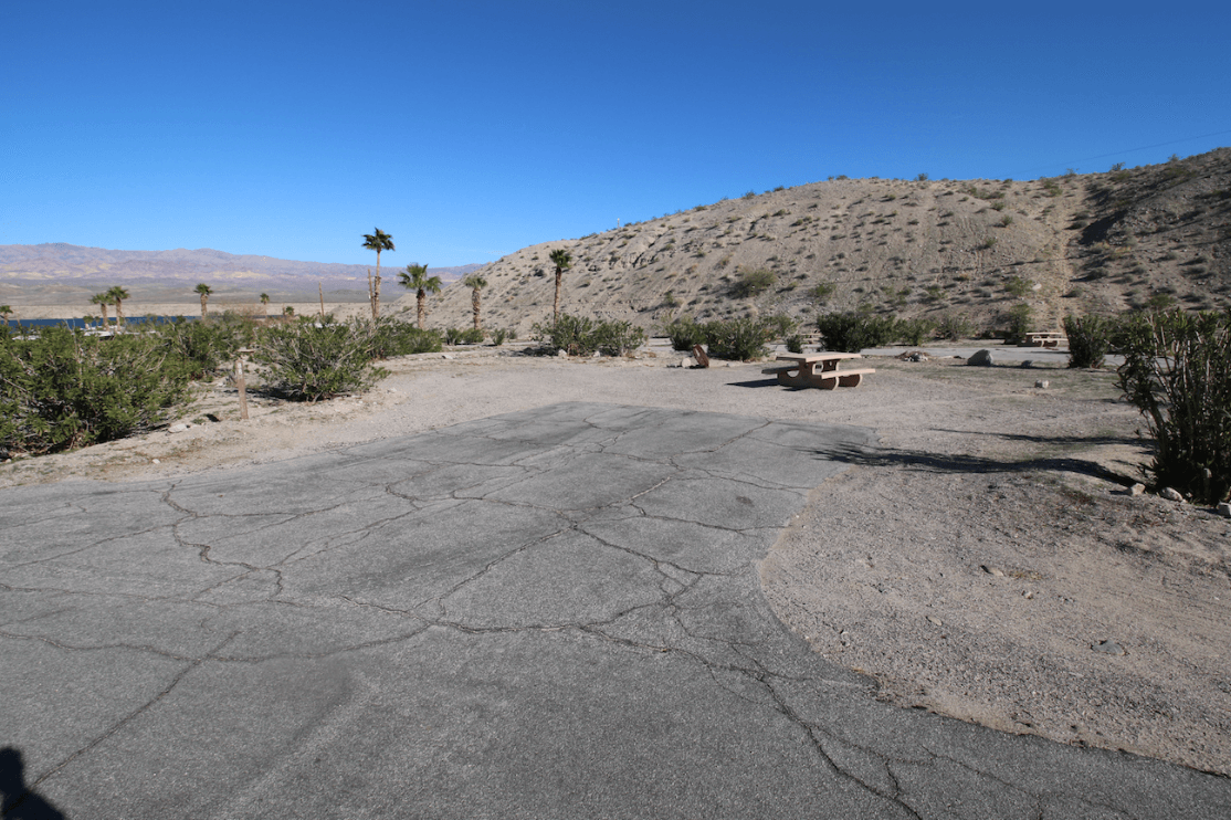 Nevada Camping Cottonwood Cove Campsite