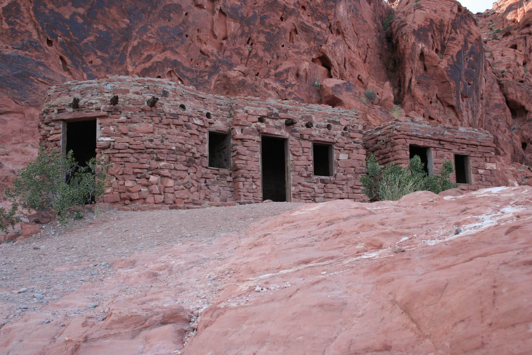 Valley of Fire State Park Historic Cabins