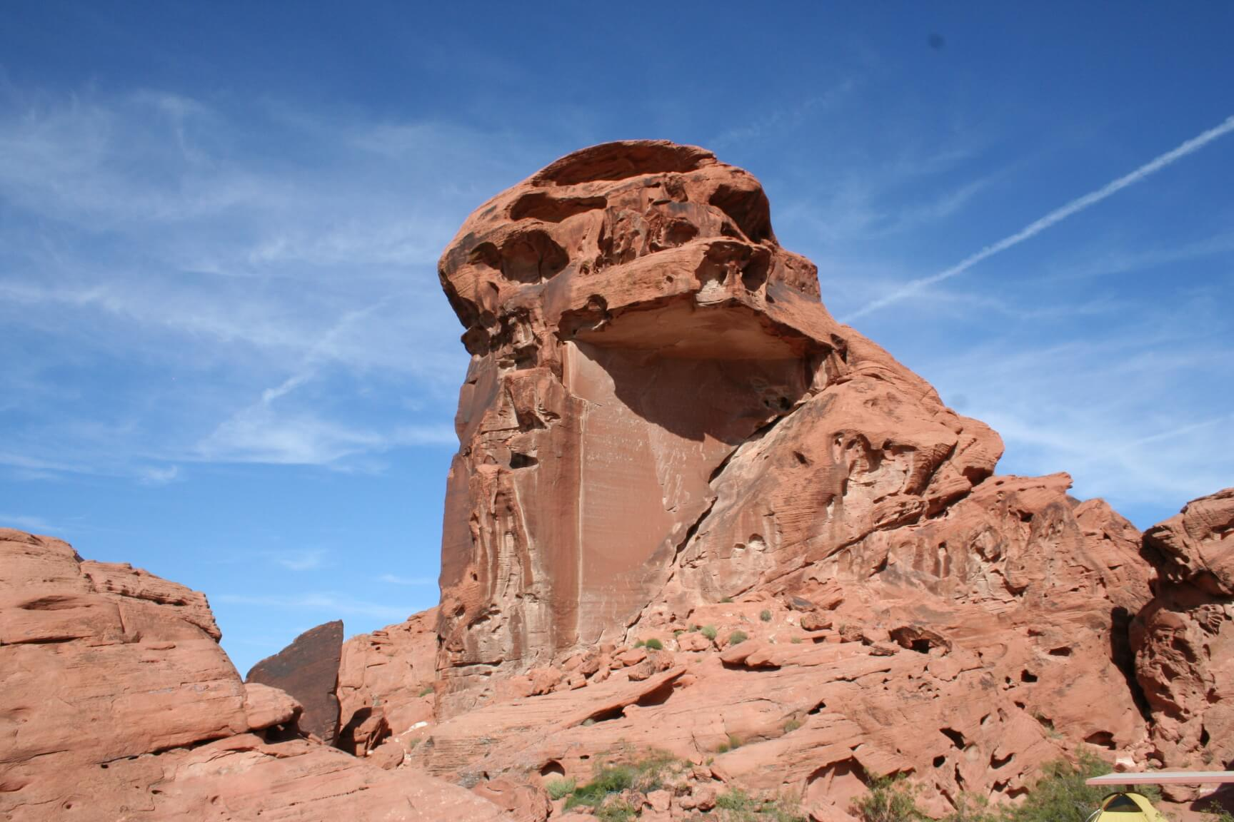Valley of Fire State Park Sandstone Formation