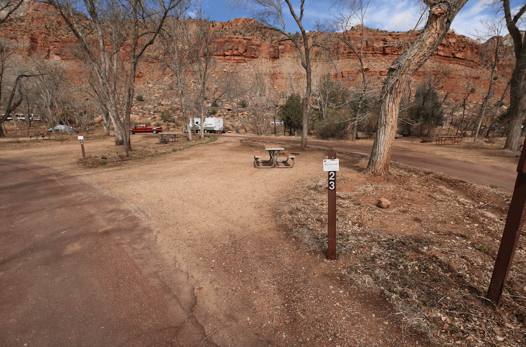 Updated South Campground Campsite Photos - Campsite 23
