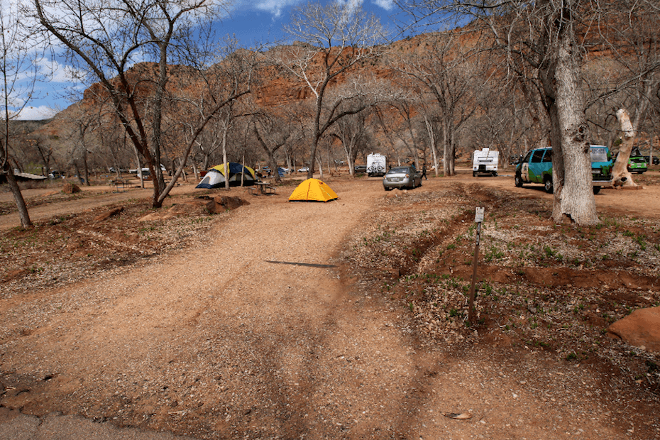 Updated South Campground Campsite Photos - Campsite 49