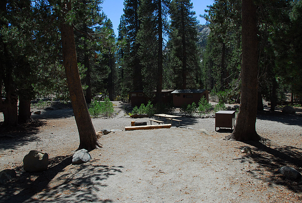 The Best Mammoth Lakes Area Campgrounds Devils Postpile Campsite A8