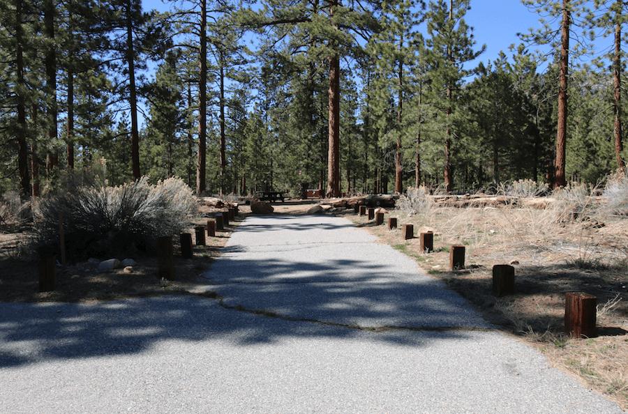 Big Bear Lake Area Campgrounds - Heart Bar 54