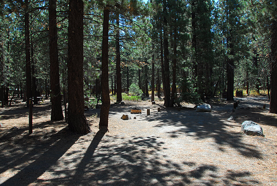 The Best Mammoth Lakes Area Campgrounds Old Shady Rest