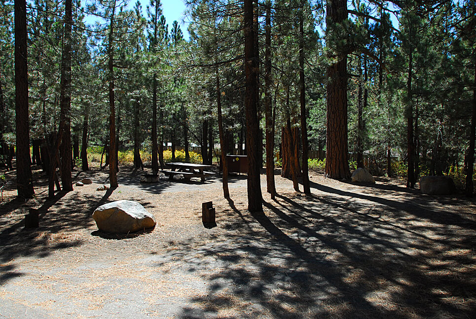 The Best Mammoth Lakes Area Campgrounds Old Shady Rest Campsite 36