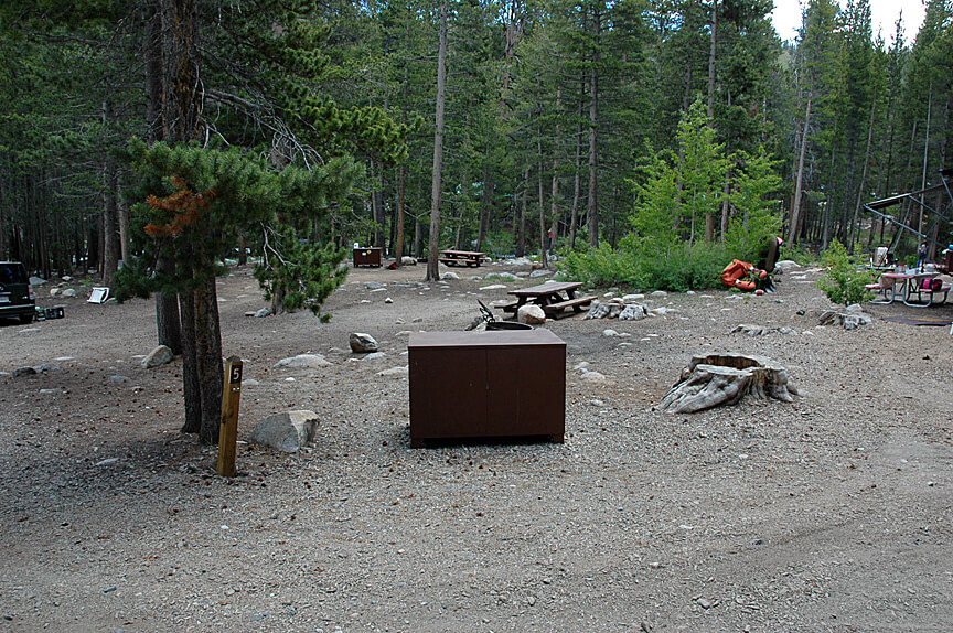 The Best Mammoth Lakes Area Campgrounds Pine Grove Campsite 5