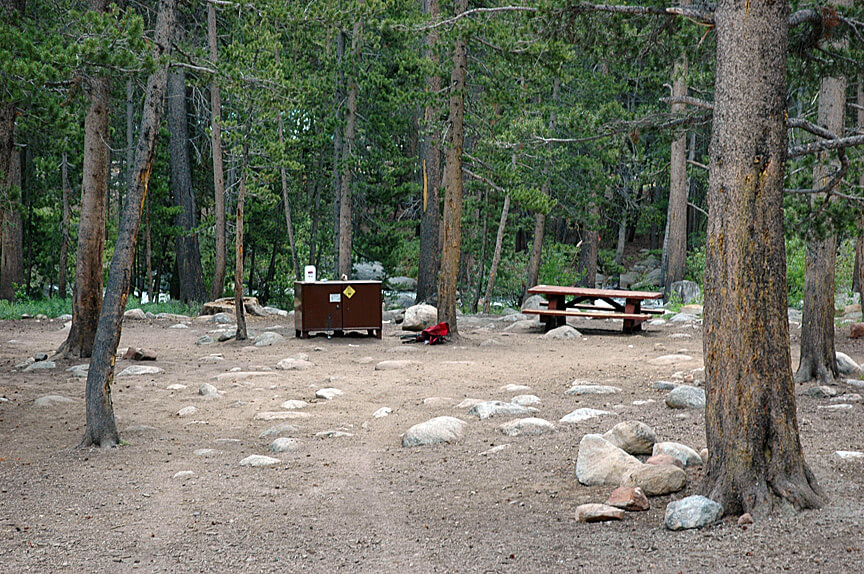 The Best Mammoth Lakes Area Campgrounds Pine Grove Campsite 6