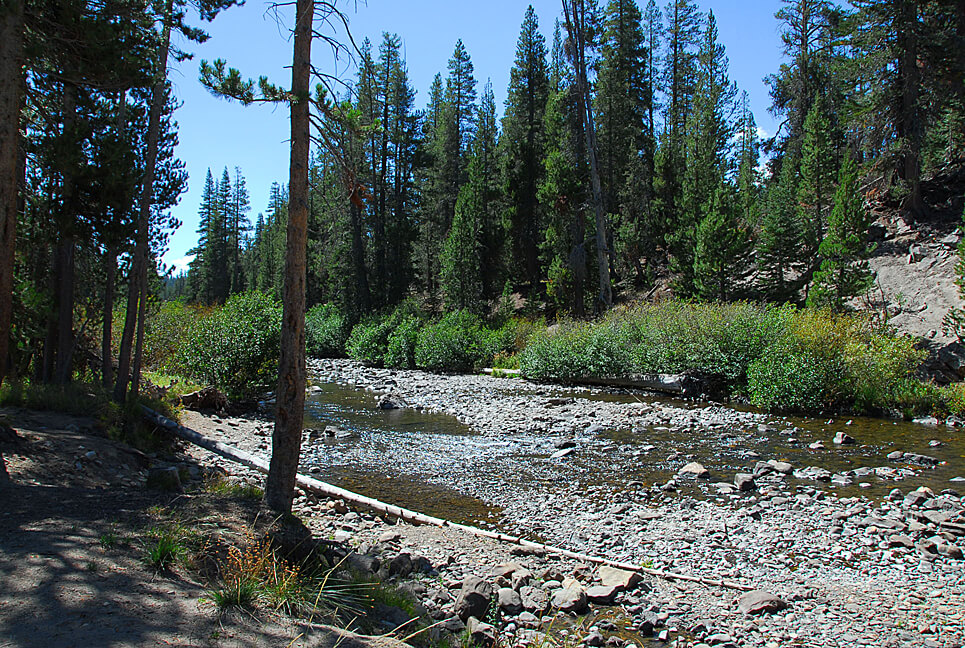 The Best Mammoth Lakes Area Campgrounds Pumice Flat San Joaquin River View