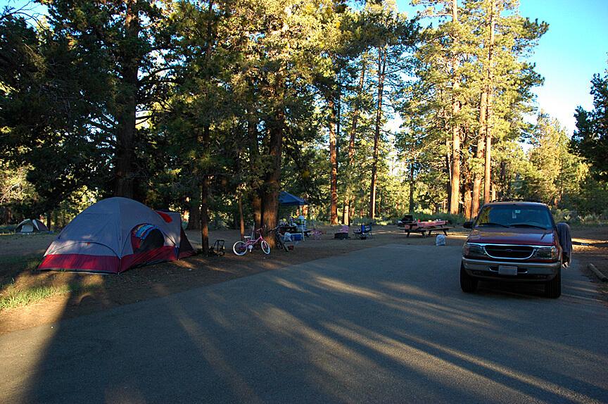 Big Bear Lake Area Campgrounds - Serrano 84-85