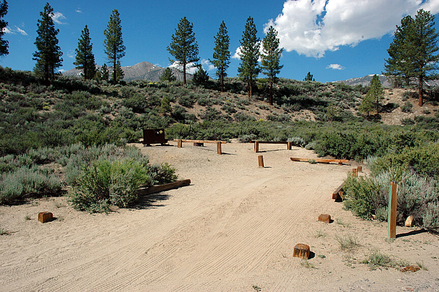 The Best Mammoth Lakes Area Campgrounds Tuff Campsite 7