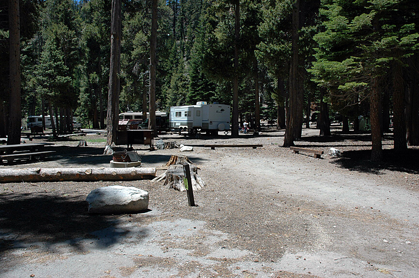 The Best Mammoth Lakes Area Campgrounds Twin Lakes Campsite 48