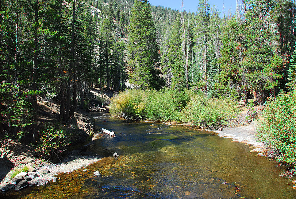 The Best Mammoth Lakes Area Campgrounds Upper Soda Springs San Joaquin River