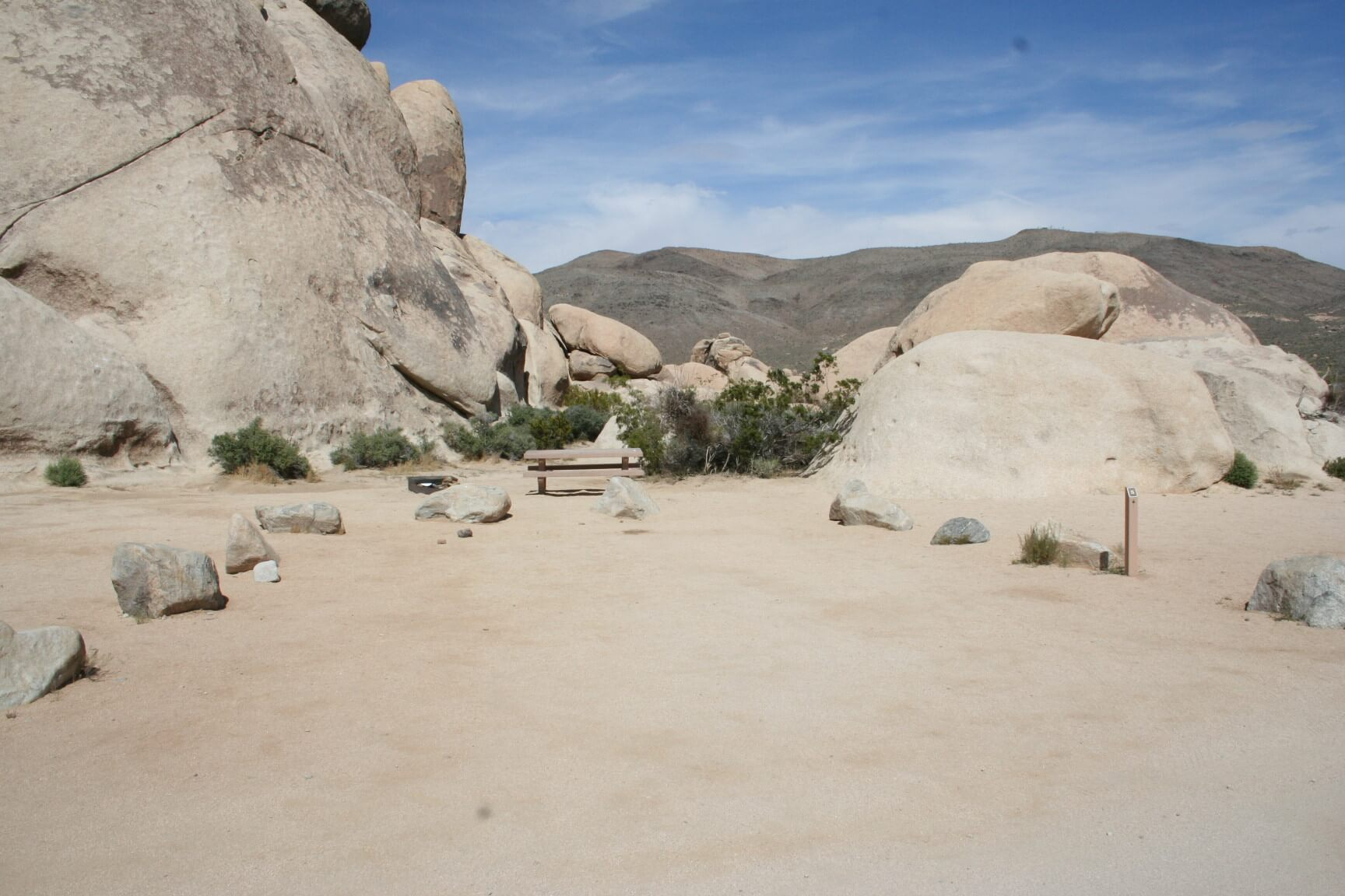 Joshua Tree National Park's Best Campsites Belle #5
