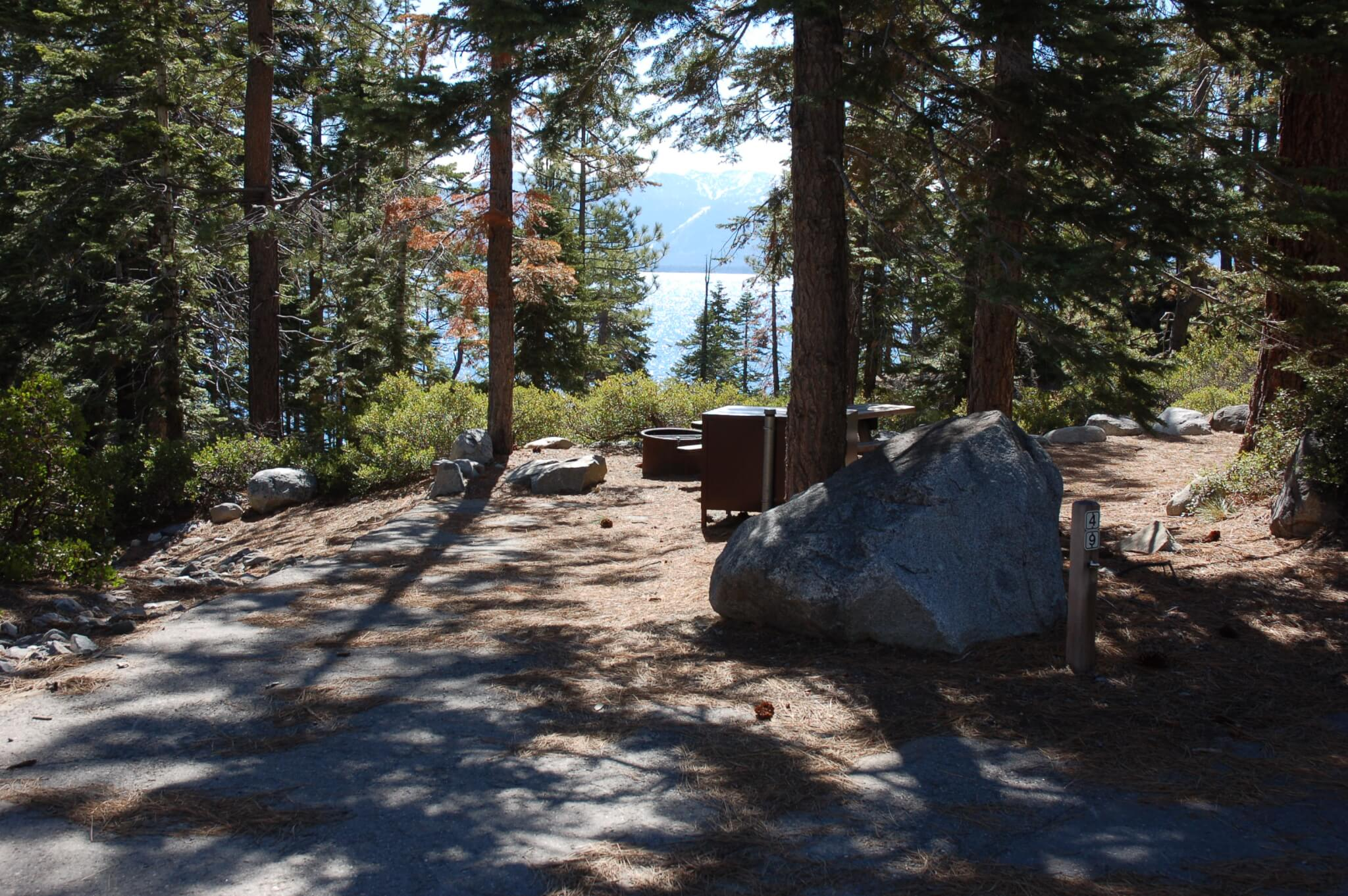 Best Campgrounds to Watch Lake Tahoe Fireworks
