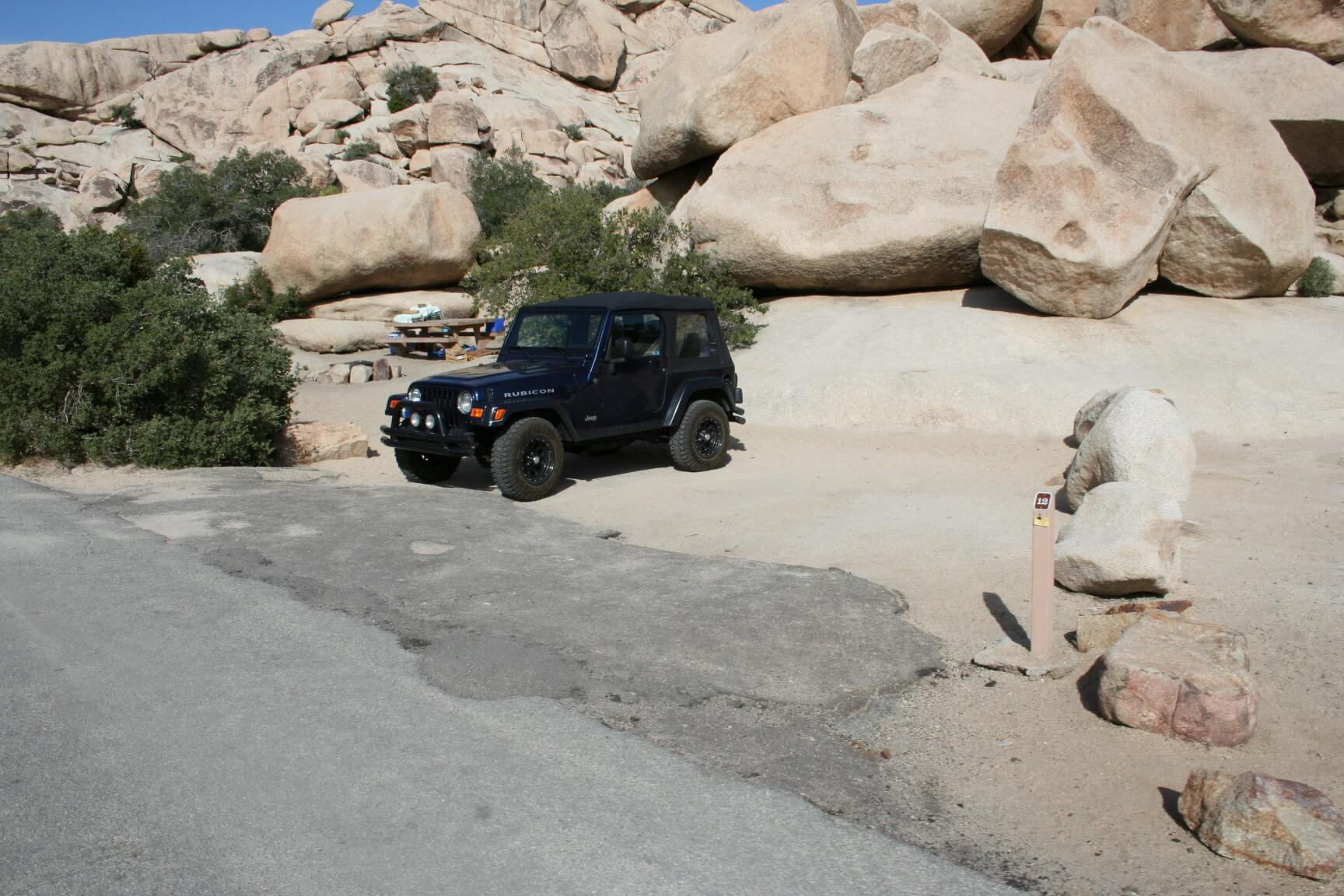 Joshua Tree National Park's Best Campsites Hidden Valley #12