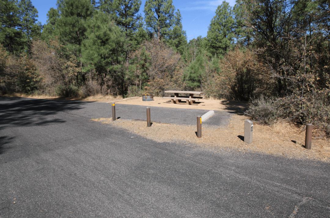 Prescott Area Campgrounds Hilltop A11