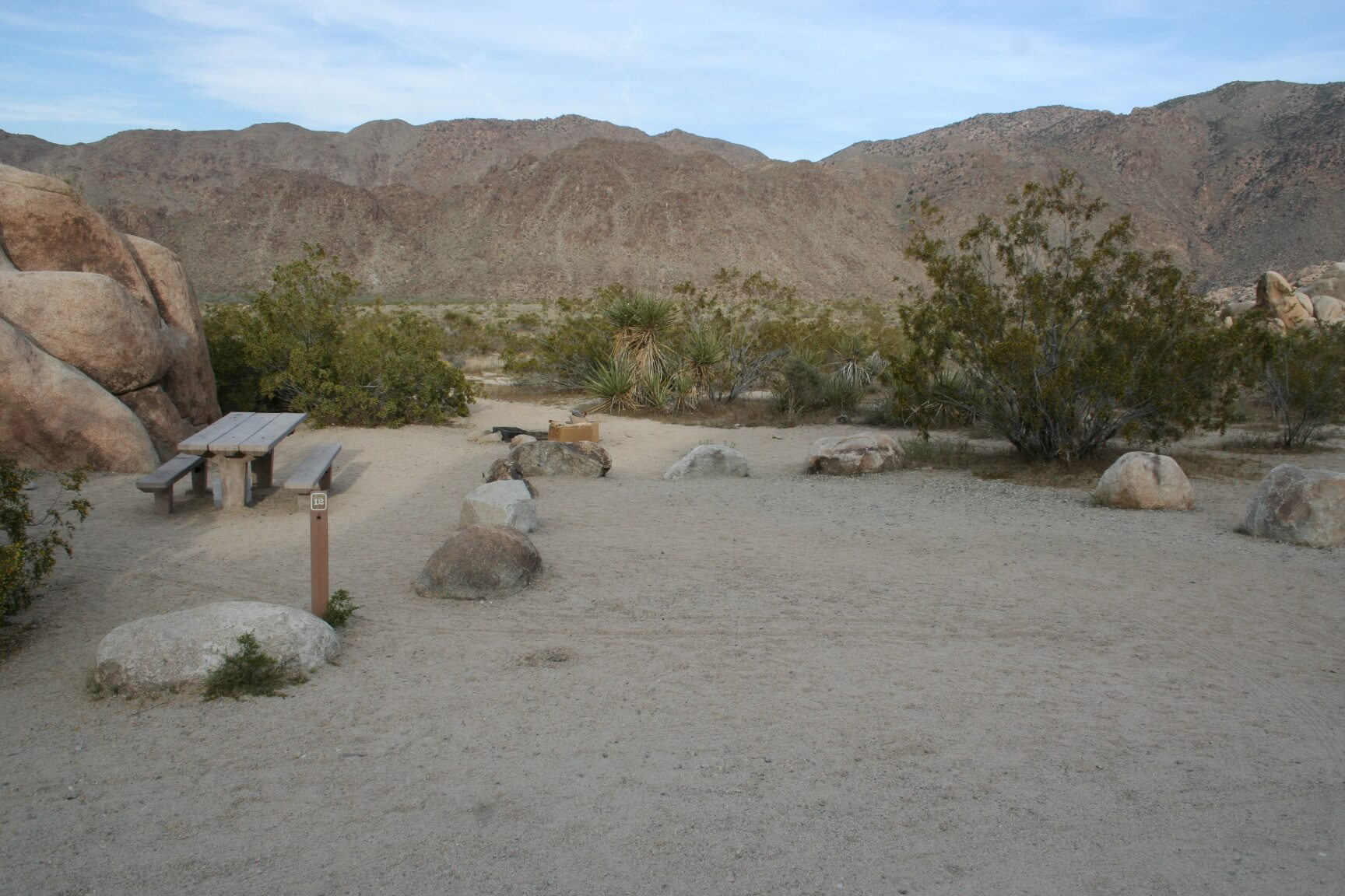 Joshua Tree National Park's Best Campsites Indian Cove #12