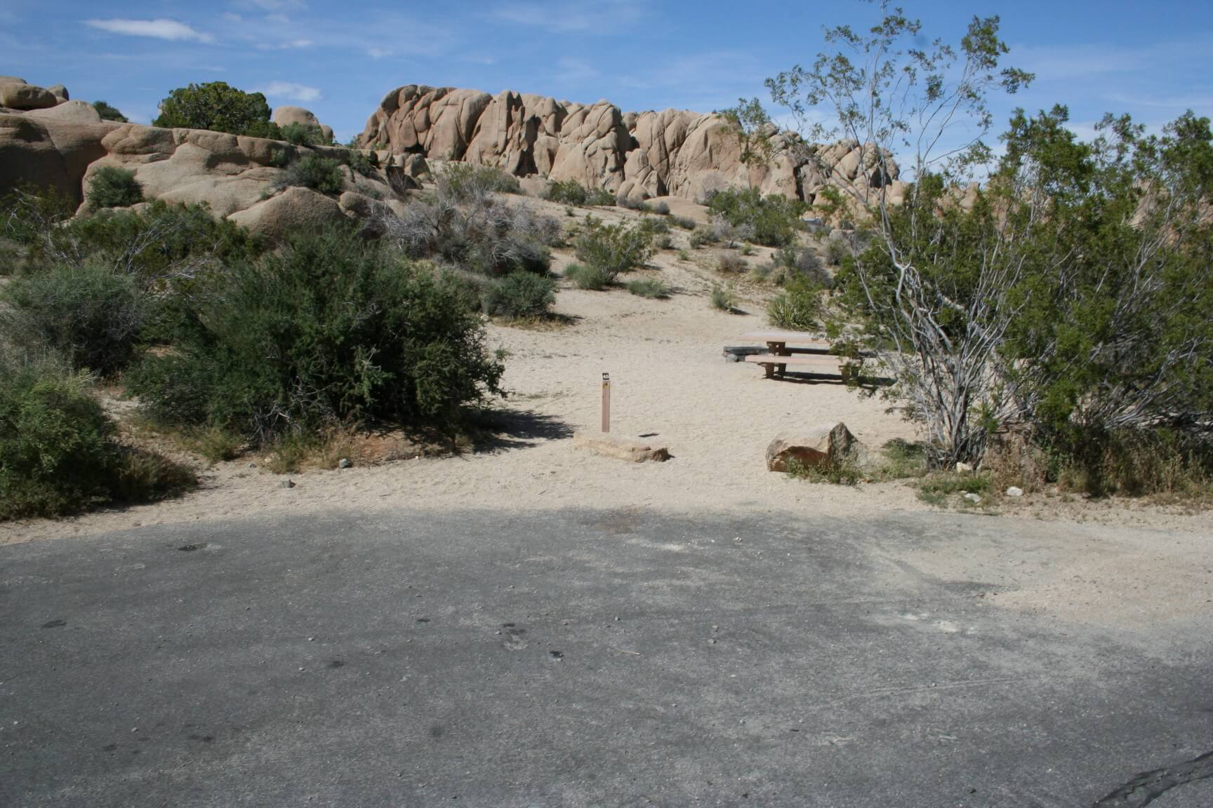 Joshua Tree National Park's Best Campsites Jumbo Rocks #45