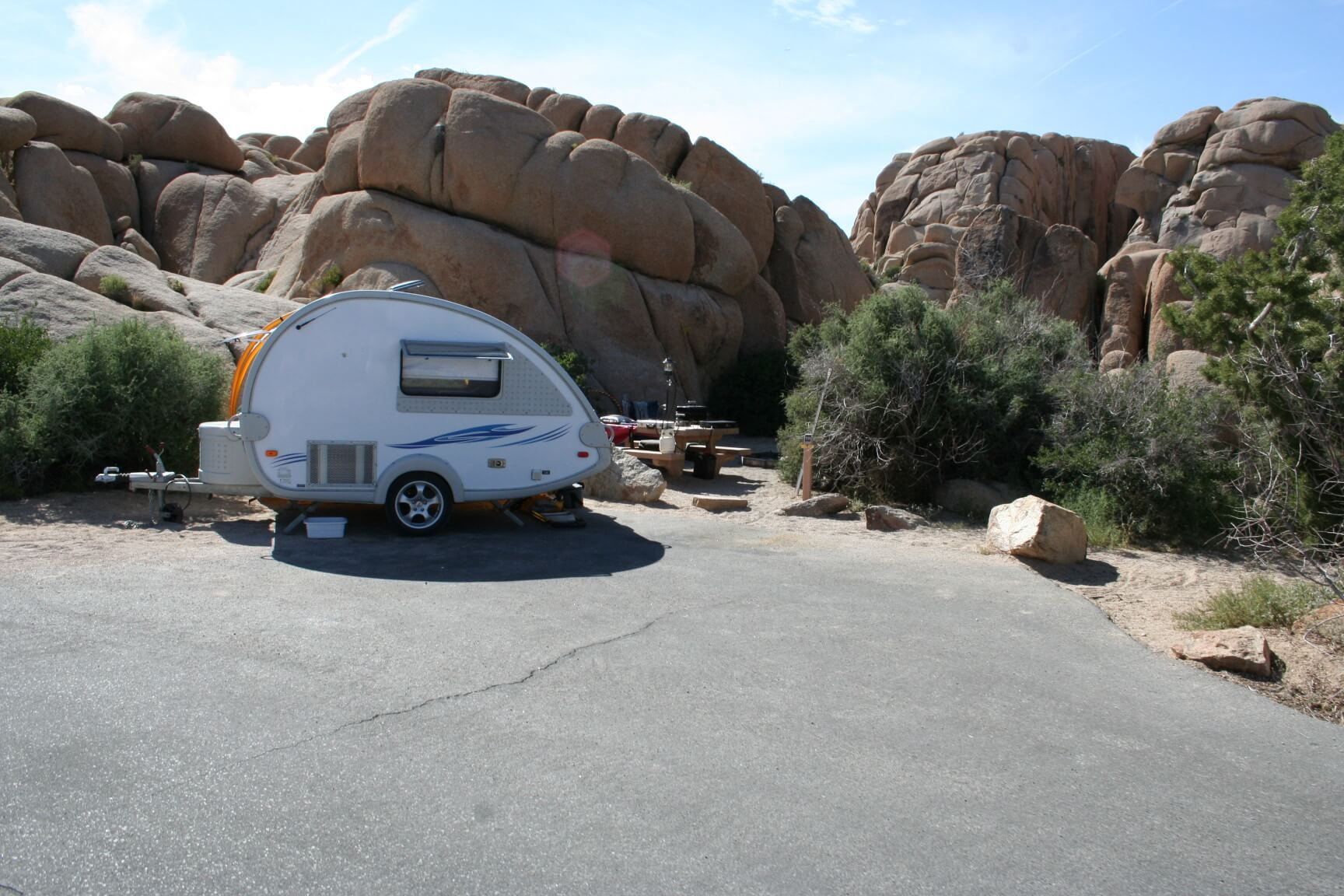 Joshua Tree National Park's Best Campsites Jumbo Rocks #79