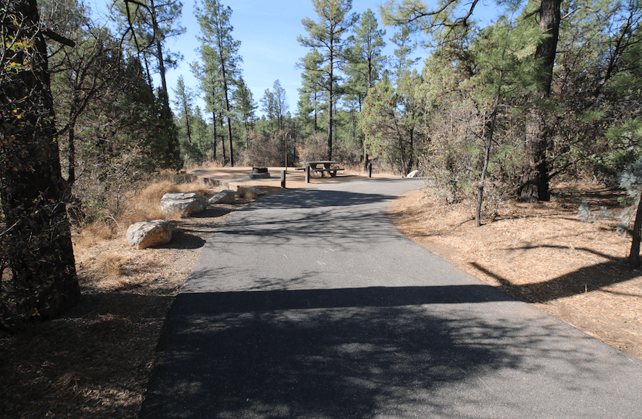 Prescott Area Campgrounds Lynx Lake B4