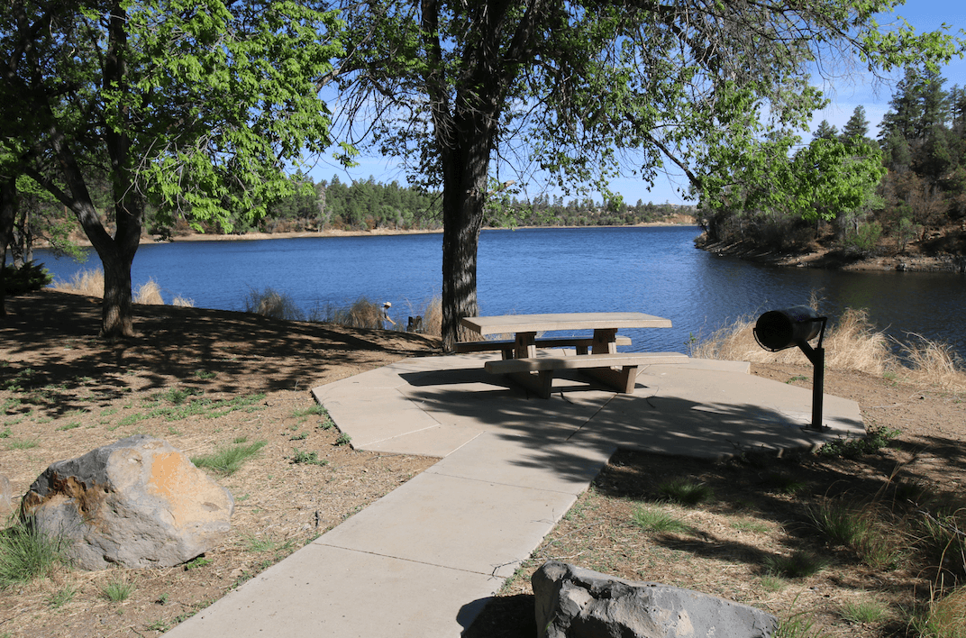 Prescott Area Campgrounds Lynx Lake Picnic Area